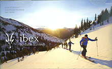 Picture of wool underwear from Ibex catalog