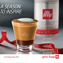 Picture of best coffee from illy  catalog