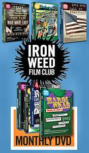 Picture of documentaries on DVD from Ironweed Film Club catalog