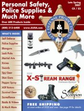 Picture of wireless security cameras from J&L Self Defense Products catalog