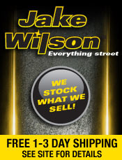 Picture of motorcycle tires from Jake Wilson - Everything Street catalog