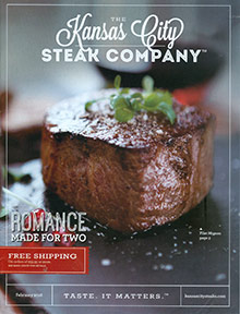 Picture of kansas city steak company from Kansas City Steak catalog