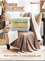 Picture of home decor online store from Lakeside Collection catalog