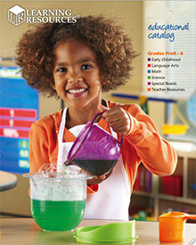 Picture of toy globe from Learning Resources catalog