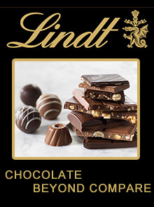 Picture of Lindt chocolate stores from Lindt Chocolate catalog