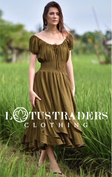 Picture of lotus trading clothing from LotusTraders catalog