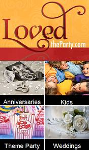 Picture of party items from Loved The Party catalog