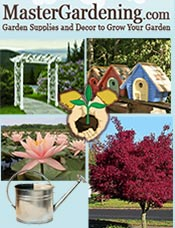 Picture of garden supplies online from Master Gardening catalog