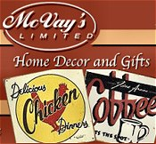 Picture of country home decor from McVay's Limited catalog