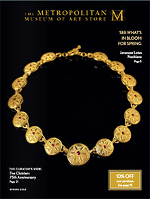 Picture of egyptian jewelry from Met Museum catalog