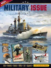 Picture of military issue catalog from Military Issue catalog