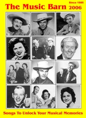 Picture of old country music from The Music Barn catalog