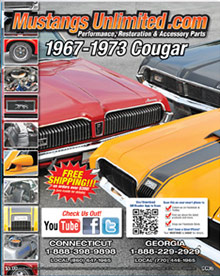 Mercury Cougars 1967-73 by Mustangs Unlimited