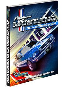 Picture of mustang parts by classic industries catalog from Mustang Parts by Classic Industries catalog