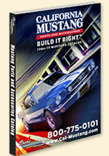 Picture of mustang parts by california mustang catalog from Mustang Parts by California Mustang catalog