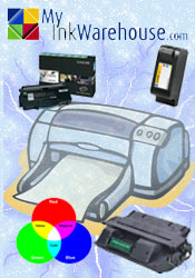 Picture of ink and toner supplies from My Ink Warehouse catalog