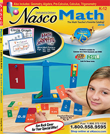 Picture of math activiites from Nasco catalog