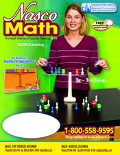 Image of math activities from Math from Nasco catalog