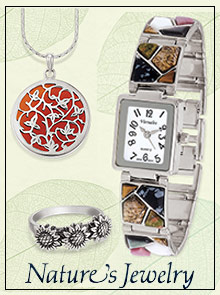 Picture of affordable fine jewelry from Nature's Jewelry catalog