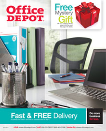 Picture of office depot catalog from Office Depot ® catalog