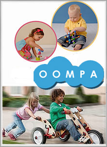 Picture of best baby toys from Oompa Toys catalog