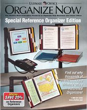 Picture of desktop organizer from Ultimate Office old catalog