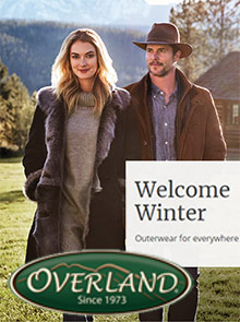 Picture of overland sheepskin from Overland Sheepskin catalog