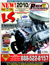 Picture of automotive performance parts from PACE Performance catalog