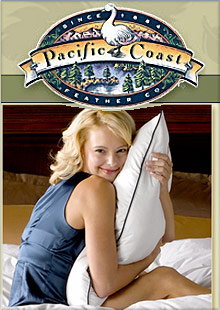 Picture of pacific coast feather company from Pacific Coast Feather Company catalog