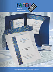 Picture of decorative stationery from PaperDirect®  catalog