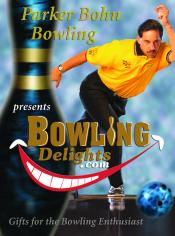 Picture of bowling party favors from Bowling Delights by Parker Bohn Bowling catalog