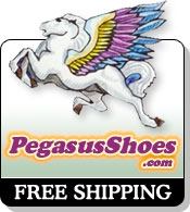 Picture of Croc shoes from Pegasus Shoes catalog