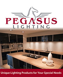 Picture of lighting fixtures for home from Pegasus catalog