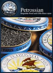 Picture of iranian caviar from Petrossian catalog