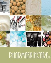 Picture of professional natural skin care products from Pharmaskincare catalog