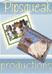 Image of pet card from Pipsqueak Productions catalog