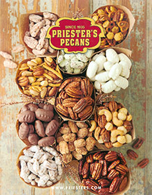 Picture of priesters pecans catalog from Priester's Pecans  catalog