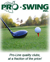 Picture of golf club components from Pro-Swing catalog
