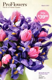 Picture of online flower shops from ProFlowers catalog
