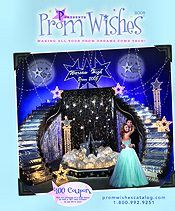 Image of mardi gras prom from Prom Wishes catalog