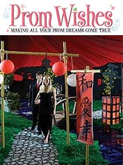 Image of asian prom theme from Prom Wishes catalog