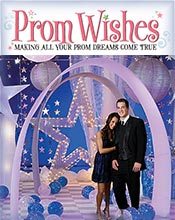 Image of prom night decorations from Prom Wishes catalog