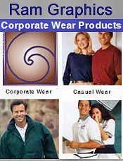 Picture of custom corporate apparel from Ram Graphics Corporate Wear catalog