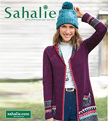 Picture of Sahalie catalog from Sahalie catalog