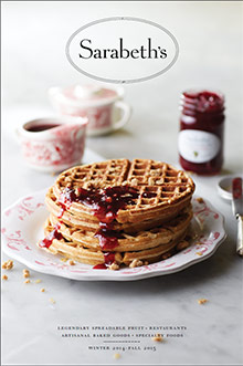 Picture of fruit preserves from Sarabeth's Kitchen catalog
