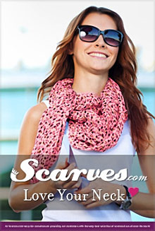 Picture of silk scarves for women from Scarves.com catalog