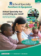 Picture of school classroom furniture from School Specialty Furniture Catalog catalog