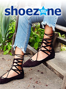 Picture of shoe zone catalog from Shoe Zone catalog