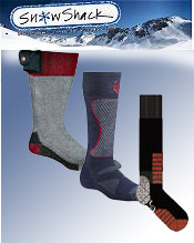 Image of cold weather socks from Snow Shack catalog