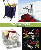 Image of laundry room ideas from Stacks and Stacks  catalog